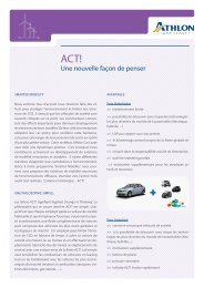 ACT! - Athlon Car Lease