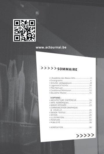 Documentation PDF - Académie des Beaux-Arts de Tournai