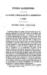 GRAMMONT, Henri Delmas de, « Etudes algériennes. La course, l ...