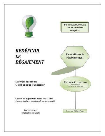 REDÉFINIR LE BÉGAIEMENT - The McGuire Programme