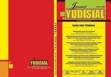 Jurnal Agustus 2012 - Komisi Yudisial