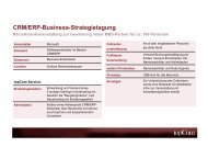 CRM/ERP-Business-Strategietagung - topCom Werbeagentur in ...