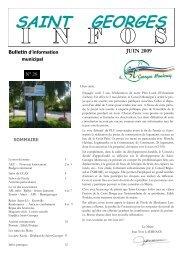 N°28 - juin 2009 - Saint-Georges-Montcocq