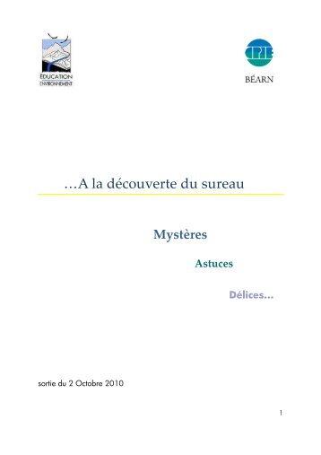 A la découverte du sureau - CPIE Béarn