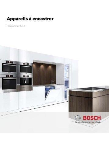 Appareils à encastrer - Bosch