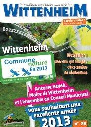 33138 bulletin_78.indd - Mairie de Wittenheim