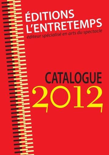 Parution 2012 - Lekti-écriture