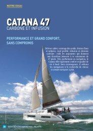 Essai Catana 47 Carbon - Yachting Sud