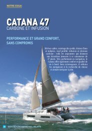 Essai Catana 47 Carbon - Yachting Sud