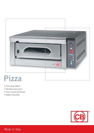 64-07 cb forni pizza - CB S.r.l.