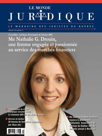 Le Monde Juridique - Le Réseau juridique du Québec