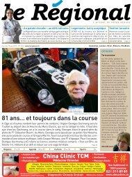 Télécharger l'édition n°615 au format PDF - Le Régional