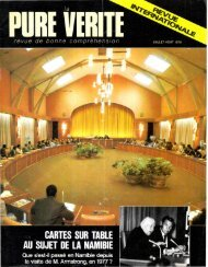 Pure Verite 1979 (No 07) Jui-Aou - Herbert W. Armstrong Library ...