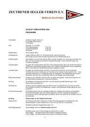 zeuthener segler-verein ev berlin-wannsee
