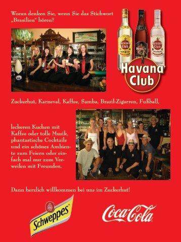 Speisekarte als PDF-Datei - Café Bar Bistro Zuckerhut in Leipzig