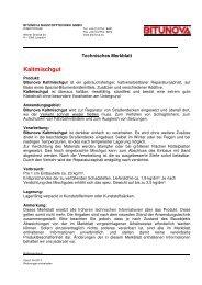 Kaltmischgut - Züblin Stahlbau GmbH