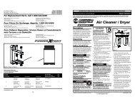 Air Cleaner / Dryer - eReplacementParts.com