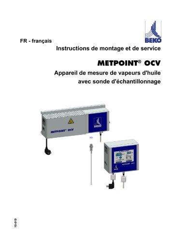 METPOINT® OCV - BEKO Technologies GmbH
