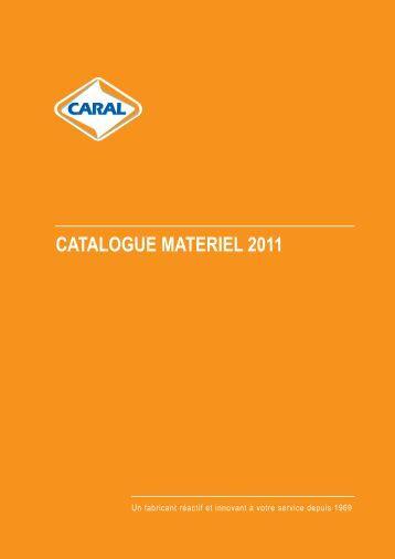 CATALOGUE MATERIEL 2011 - Caral