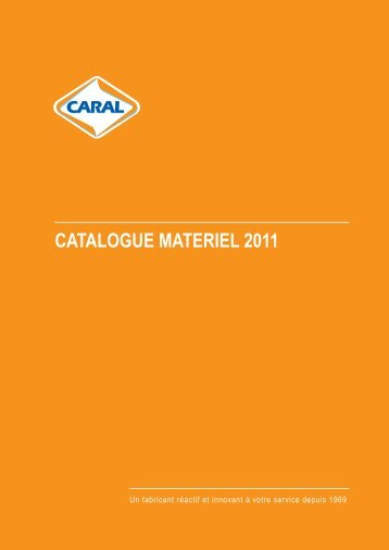 CATALOGUE MATERIEL 2011 - Caral
