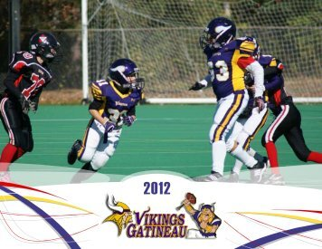 Download a copy of the 2012 Season review in ... - Gatineau Vikings