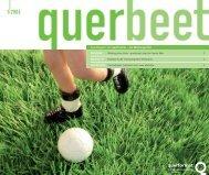 querbeet Ausgabe 1/2006 - querformat - Die Werbeagentur