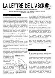 Association Biterroise Contre le Racisme - attac Béziers