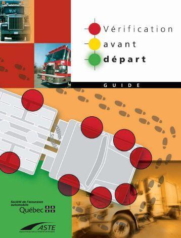 Vérification avant départ - Société de l'assurance automobile du ...