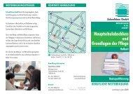 Hauptschulabschluss und Grundlagen der Pflege - Zukunftsbau GmbH