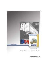 BASICON Handout zum E-Learning-Tool - Zukunftsbau GmbH