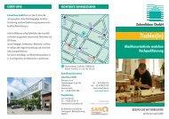 Faltblatt Nachqualifizierung Tischler/in - Zukunftsbau GmbH