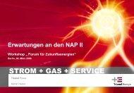 STROM + GAS + SERVICE - Forum für Zukunftsenergien