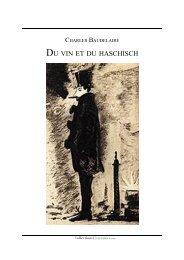 DU VIN ET DU HASCHISCH - Charles Baudelaire