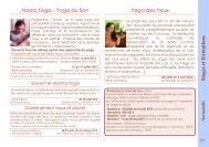 Stages et formations Yoga des Yeux Nada Yoga - Yoga ... - Tapovan