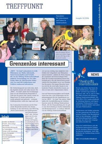 Ausgabe 02/2006 - Treffpunkt Technik in der Schule