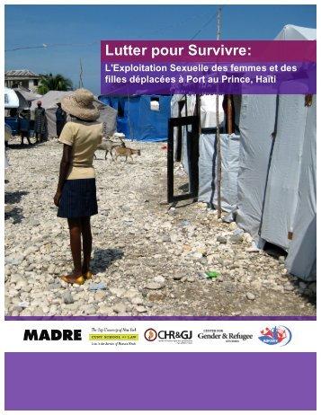 Lutter pour Survivre: - Madre
