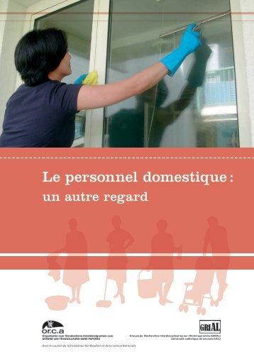 Le personnel domestique : un autre regard