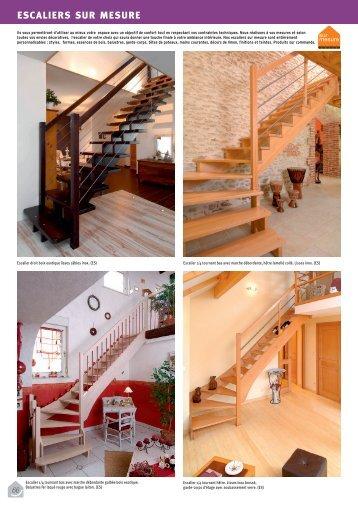 Escaliers - Ginisty, bois et dérivés