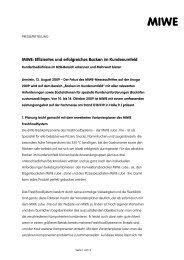 MIWE: Effizientes und erfolgreiches Backen im ... - Zweiblick