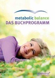 Flyer Bücher metabolic balance (PDF, 351 KB) - Zweiblick
