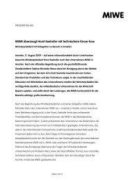 MIWE überzeugt Horst Seehofer mit technischem Know ... - Zweiblick