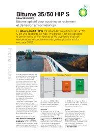Bitume 35/50 HIP S (pdf, 198Ko) - BP