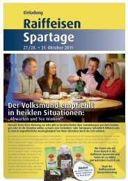 Der Volksmund empfiehlt in heiklen Situationen - Oberösterreich