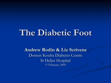 Diabetic Foot Ulcers - St Helier VTS