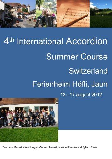 8-12 August 2011 - Pigini
