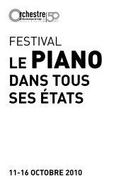 DANS TOUS SES ÉTATS - Orchestre Philharmonique Royal de Liège