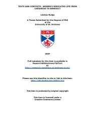 Lindsay Rudge PhD Thesis - University of St Andrews