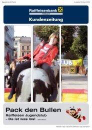 Kundenzeitung RB Ohlsdorf, Ausgabe Oktober ... - Oberösterreich