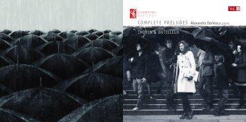 COMPLETE PRELUDES Alexandra Dariescu - Champs Hill Records
