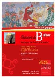 Livret pédagogique L'Histoire de Babar - Cndp